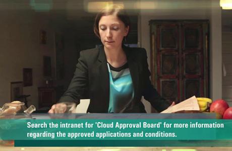 In opdracht van InfoSecure maakte Third een video waarmee medewerkers van ABN AMRO ingelicht worden over gebruik van Cloud diensten. In veel gevallen zijn die namelijk toegestaan, mits medewerkers goed weten wat wel en niet kan.
